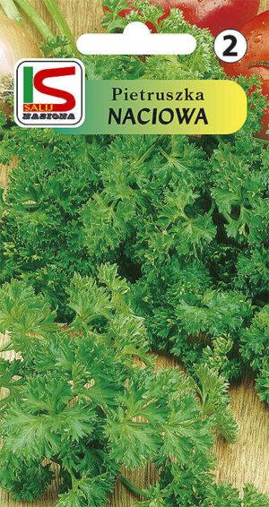 Pietruszka naciowa kędzierzawa - torebka nasion
